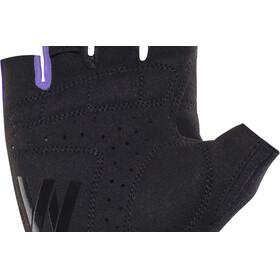 Cube Natural Fit WLS Rękawiczka rowerowa Kobiety fioletowy/czarny